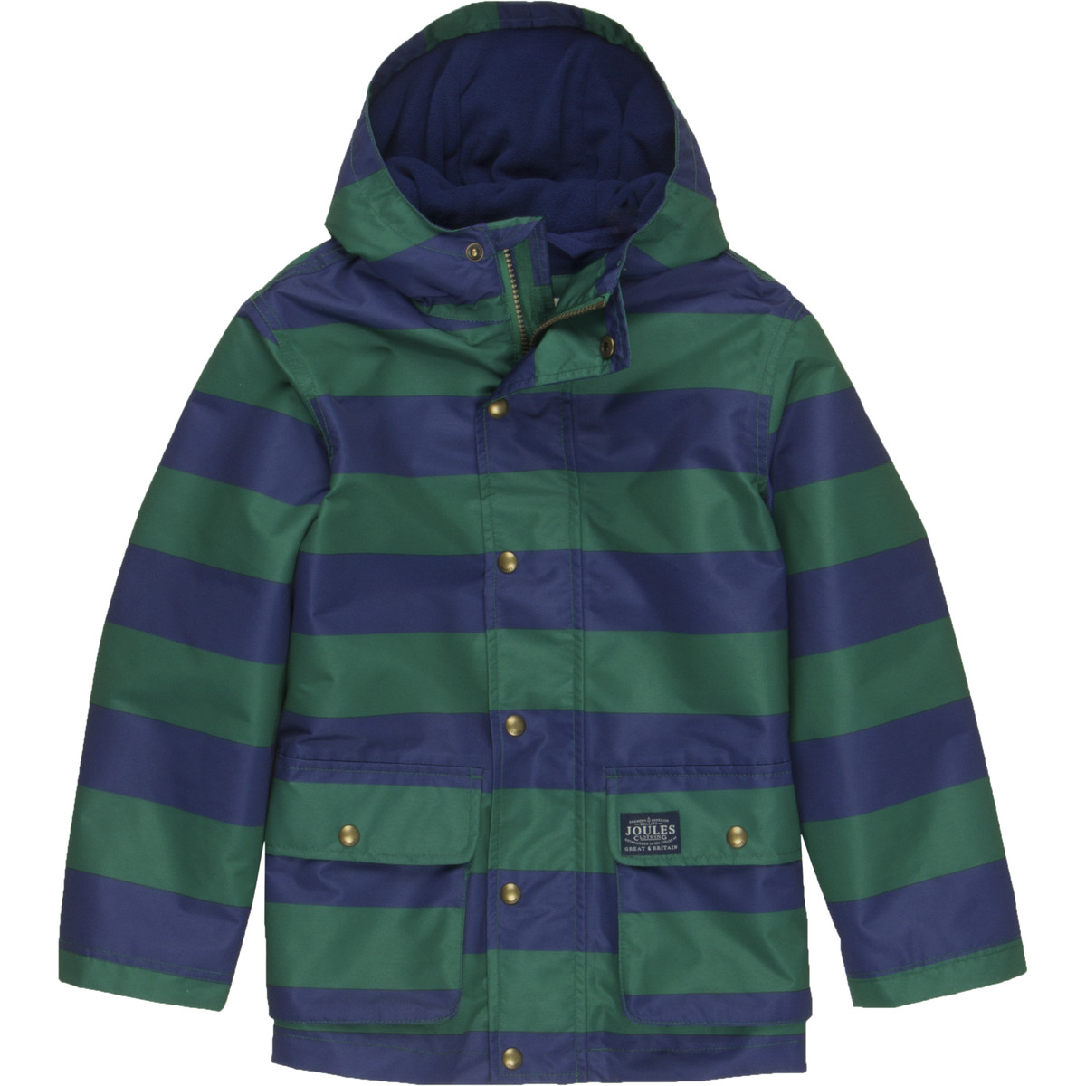 Joules JNR Maybury Fleece Lined Rain Jacket - Boys
