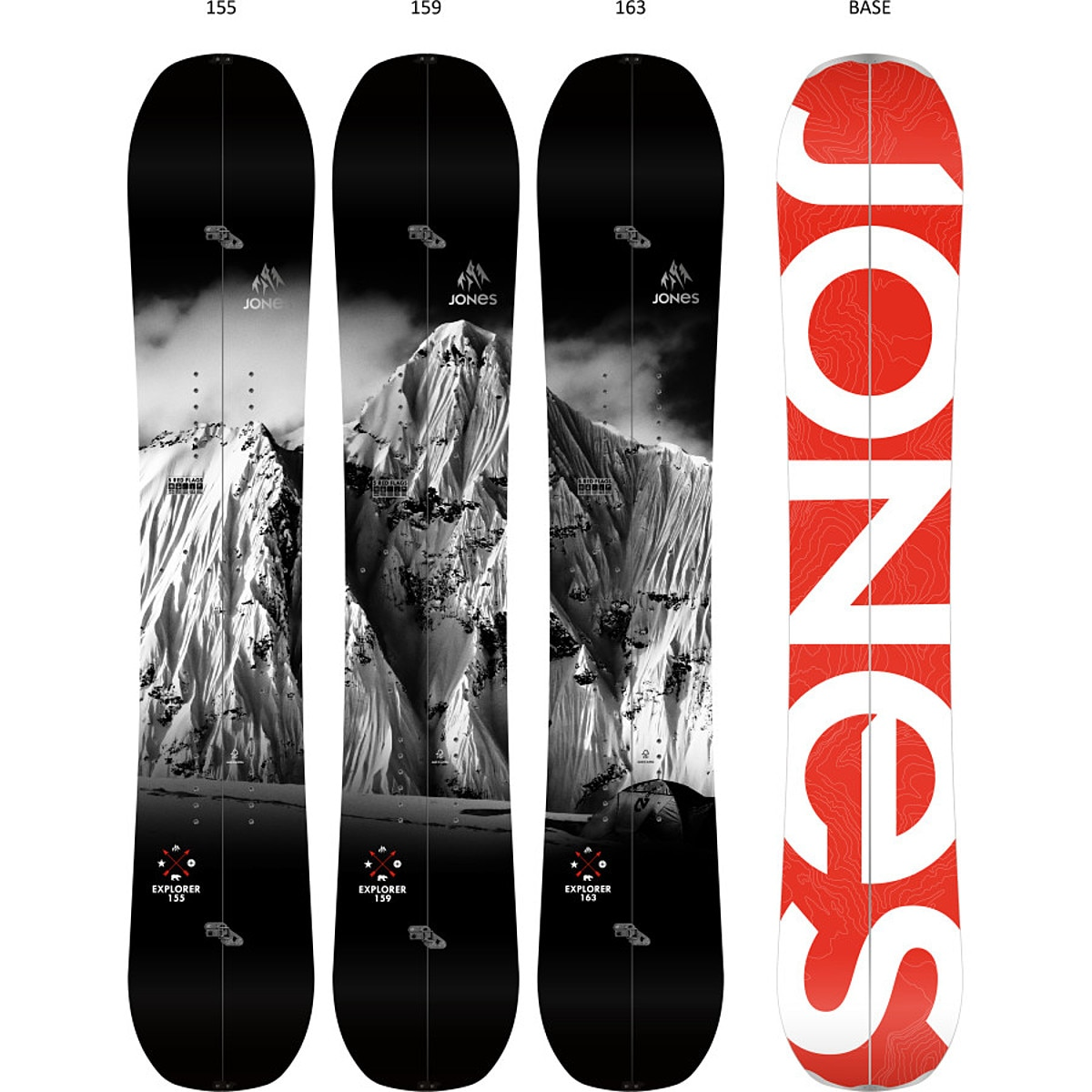 Jones Snowboards Explorer Splitboard