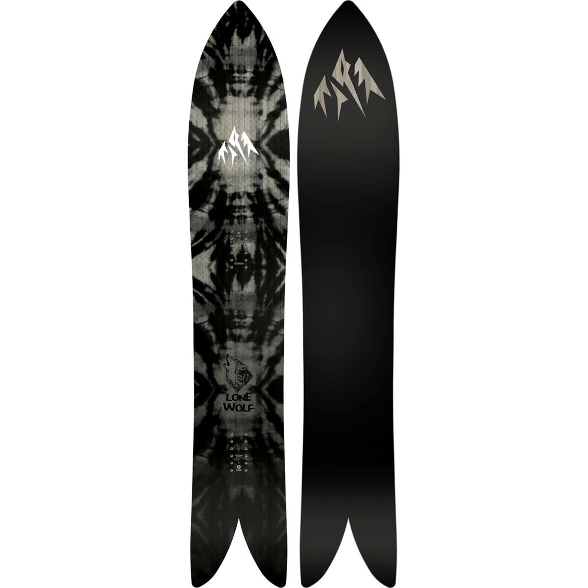 Jones Snowboards Lone Wolf Snowboard One Color, 168cm