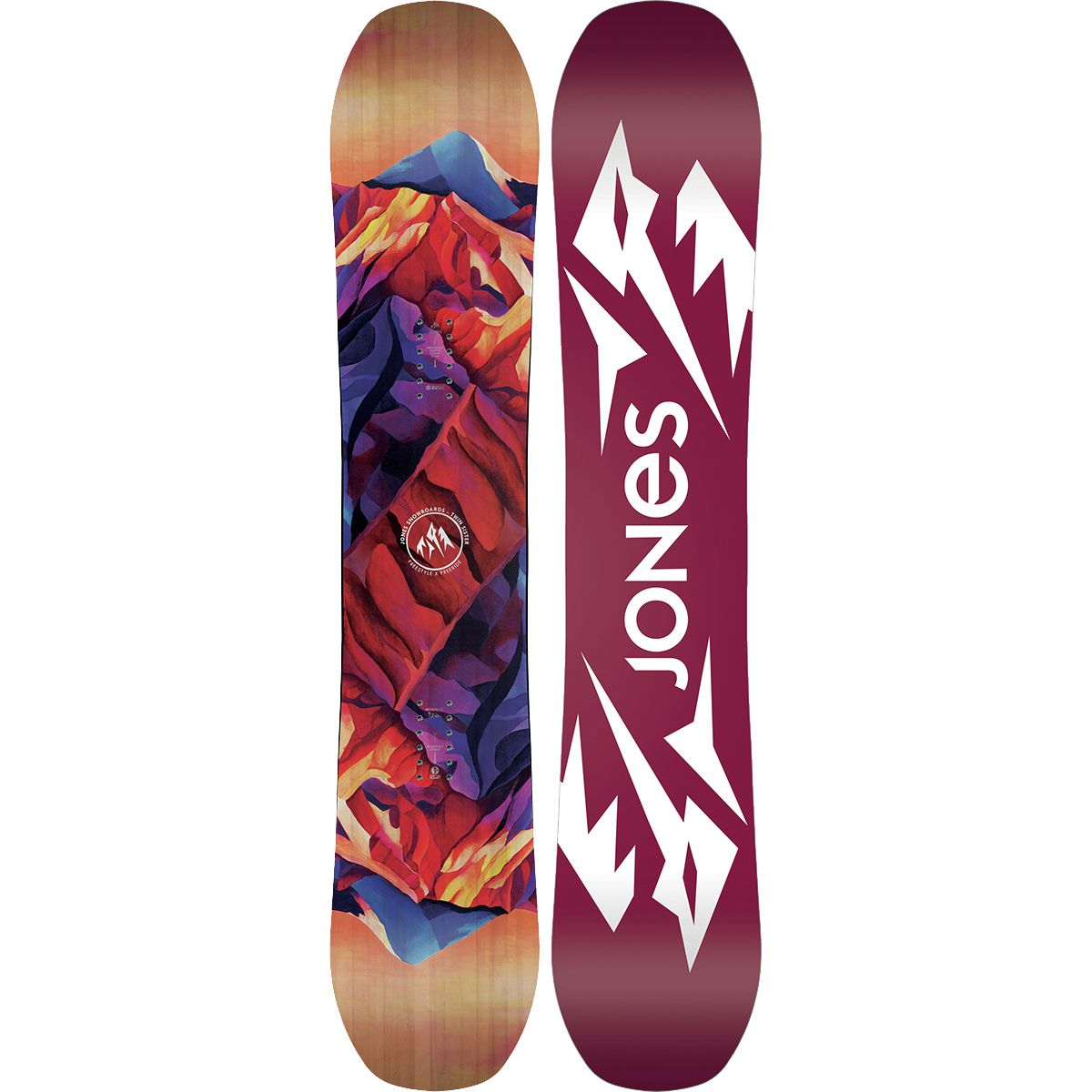 Jones Snowboards Twin Sister Snowboard - Women's One Color, 146cm