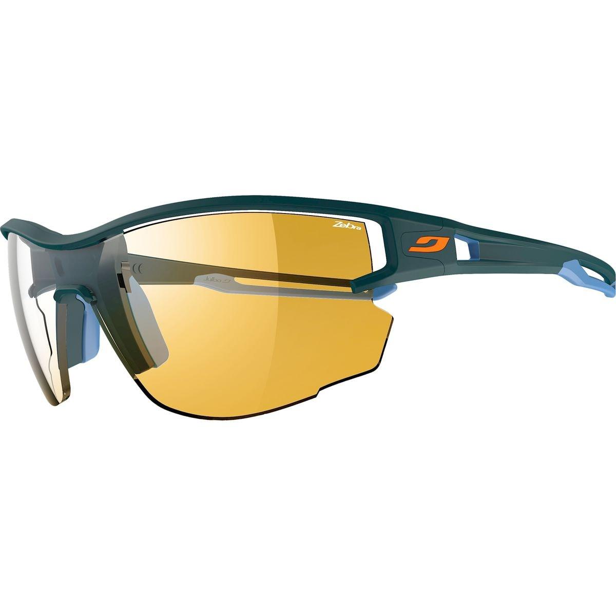 Julbo Aero Sunglasses  Zebra Dark Blue Blue Zebra One Size