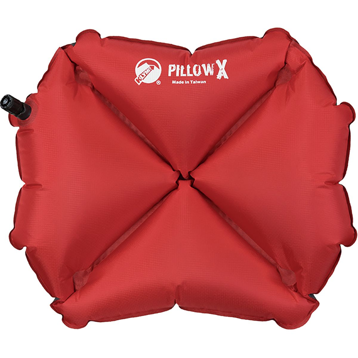 Klymit Pillow X Camp Pillow Red/Gray, One Size