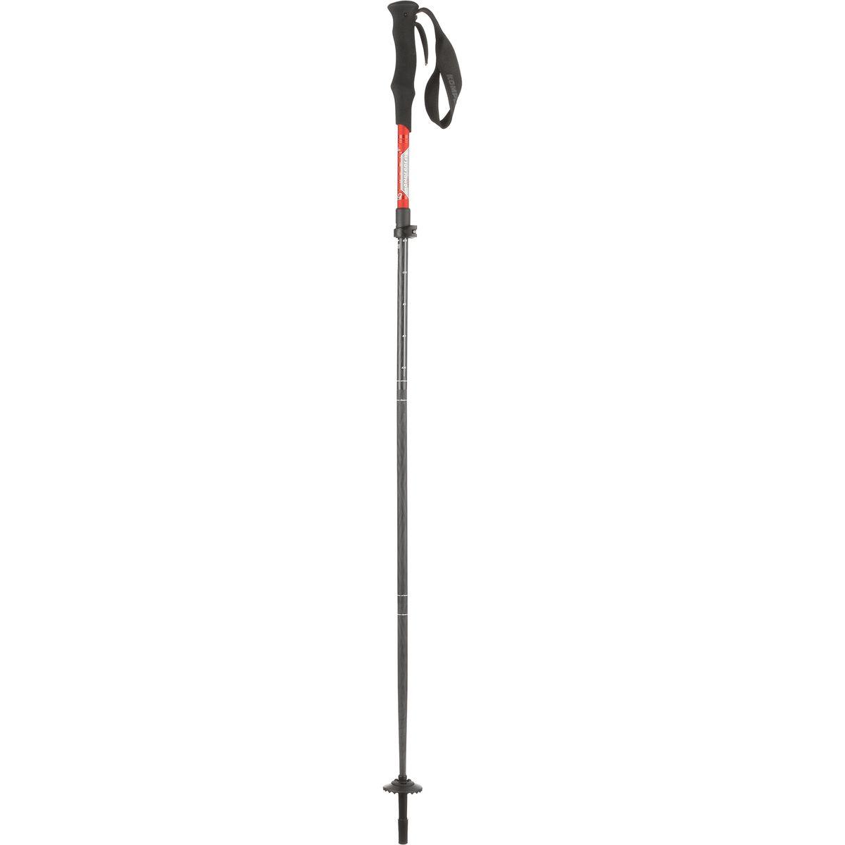 Komperdell Carbon Approach Vario 4 Compact Trekking Poles
