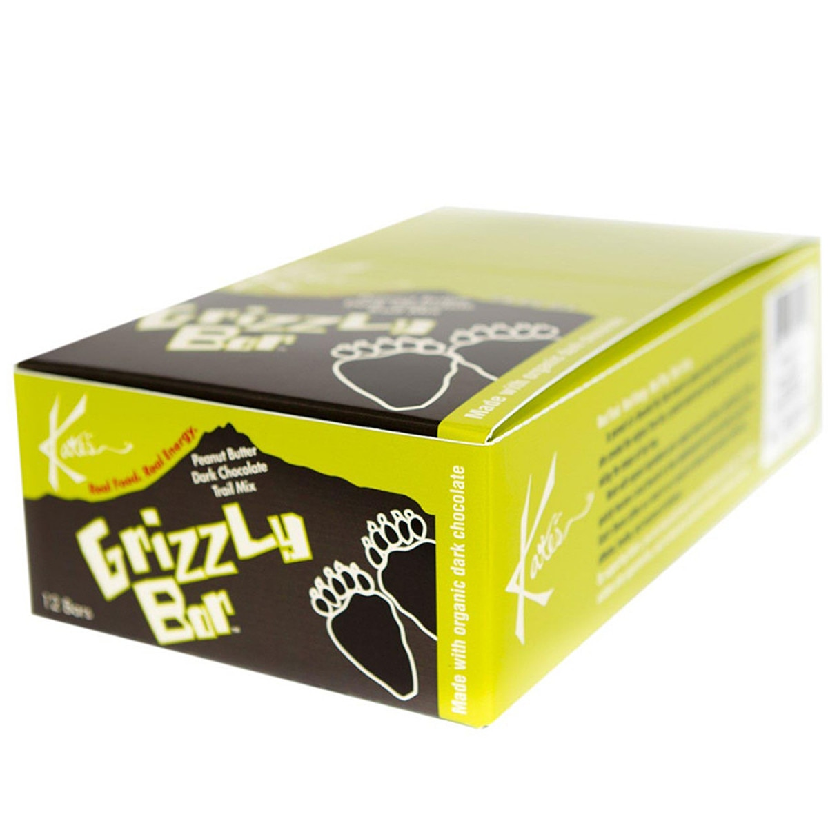 Kates Real Food Grizzly Bars One Color 12 bars