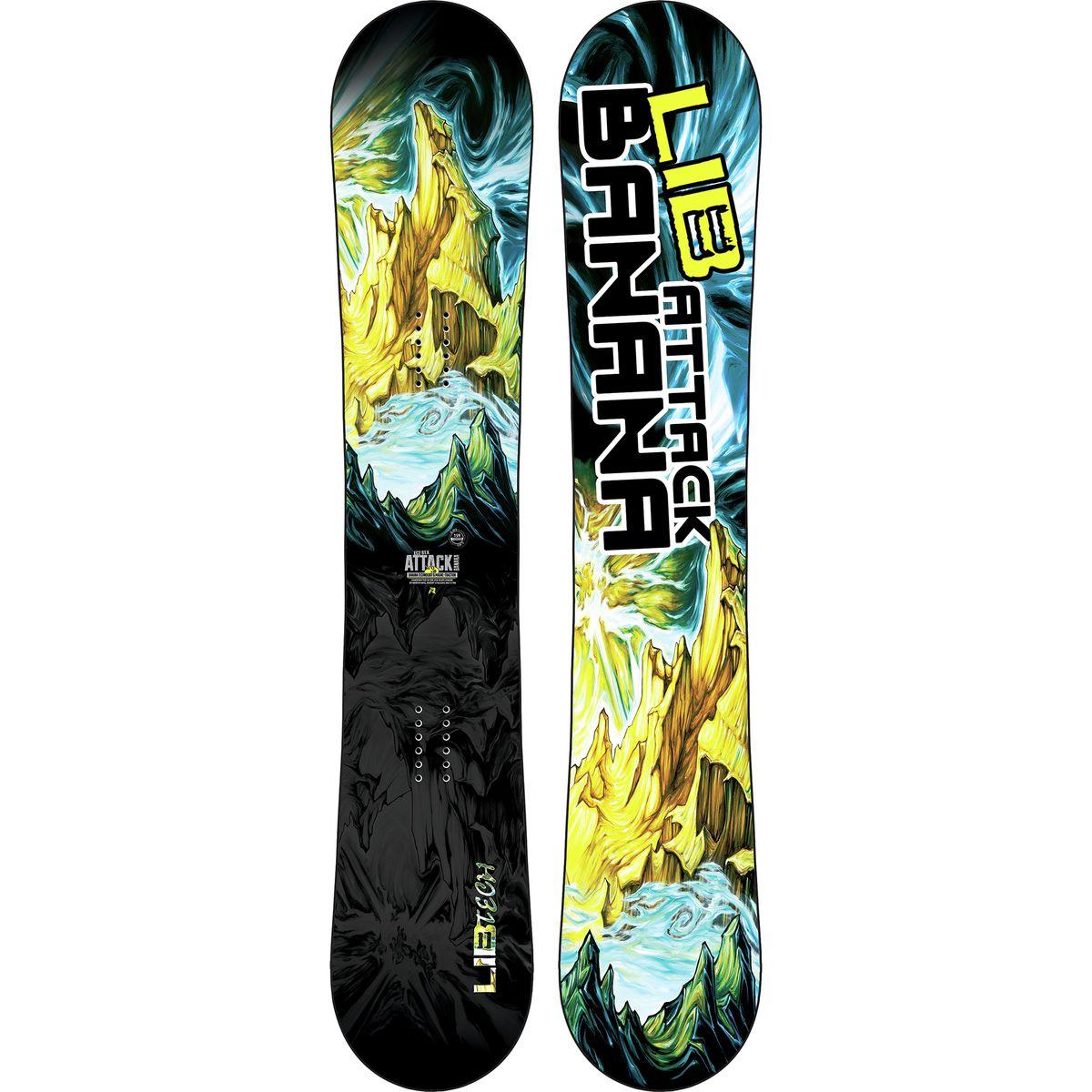 Lib Technologies Attack Banana EC2 BTX Snowboard  Wide