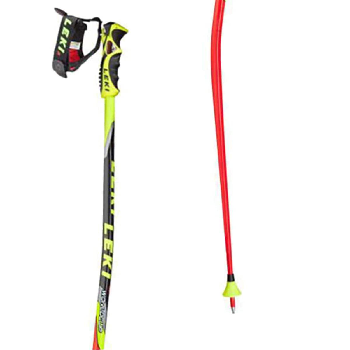 LEKI Worldcup Racing GS Ski Poles One Color, 56in(140cm) LEK002C-ONECOL-S56IN140CM