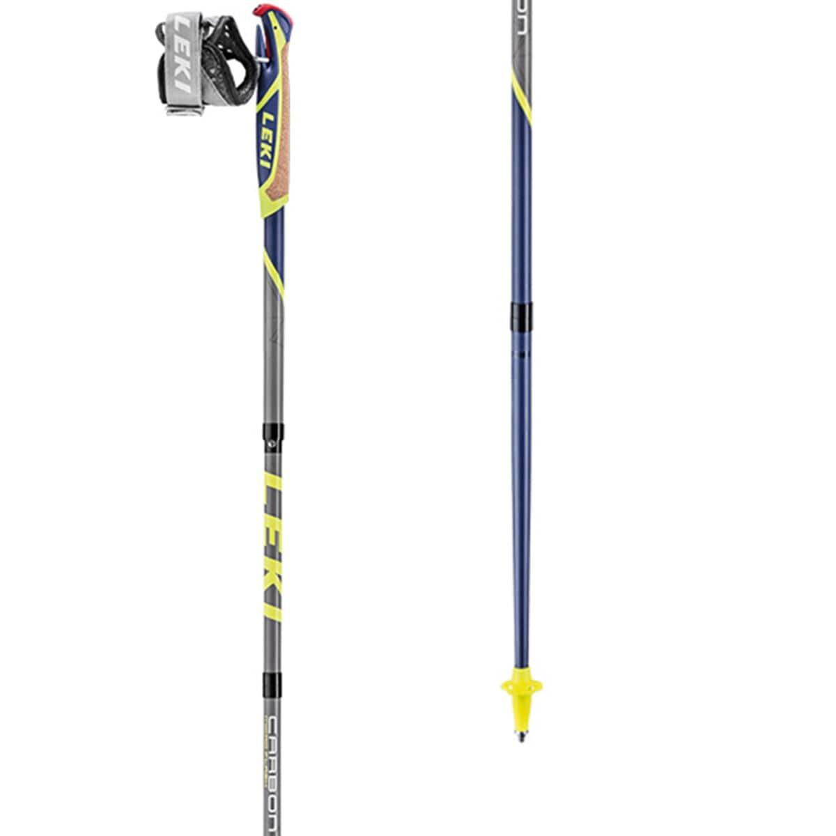 LEKI Micro Flash Carbon Trekking Poles One Color, 110cm