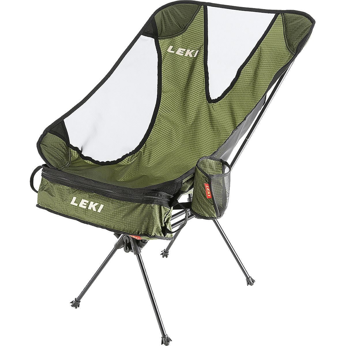 LEKI Chiller Chair Olive, One Size