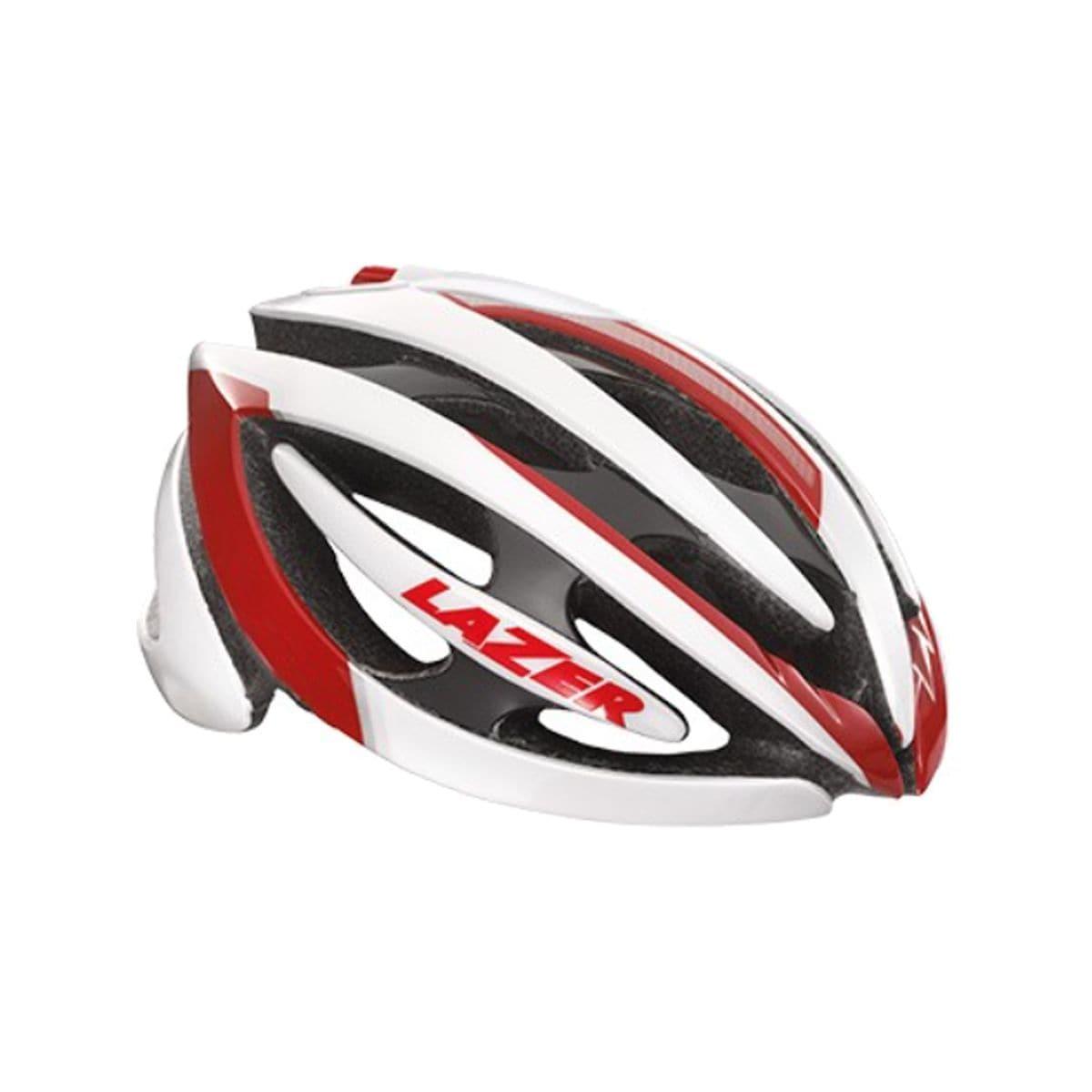 Lazer Genesis Helmet White Red L