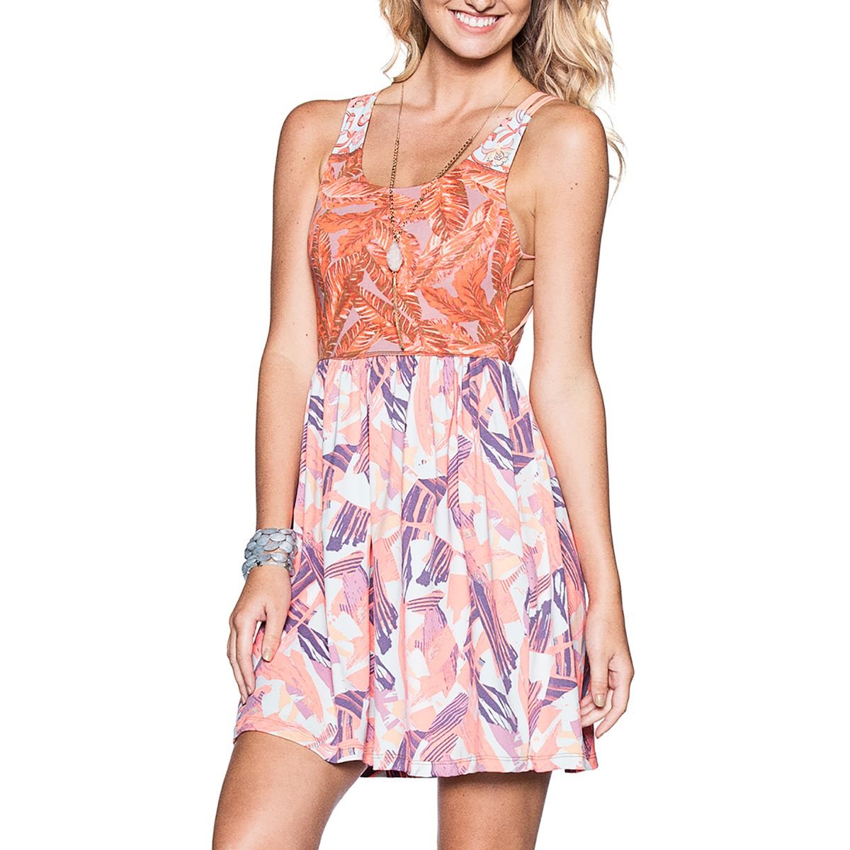 Maaji Amber Palms Dress  Womens