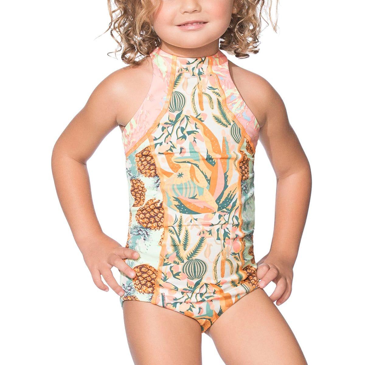 Maaji Hello Cactus One-Piece Swimsuit - Girls