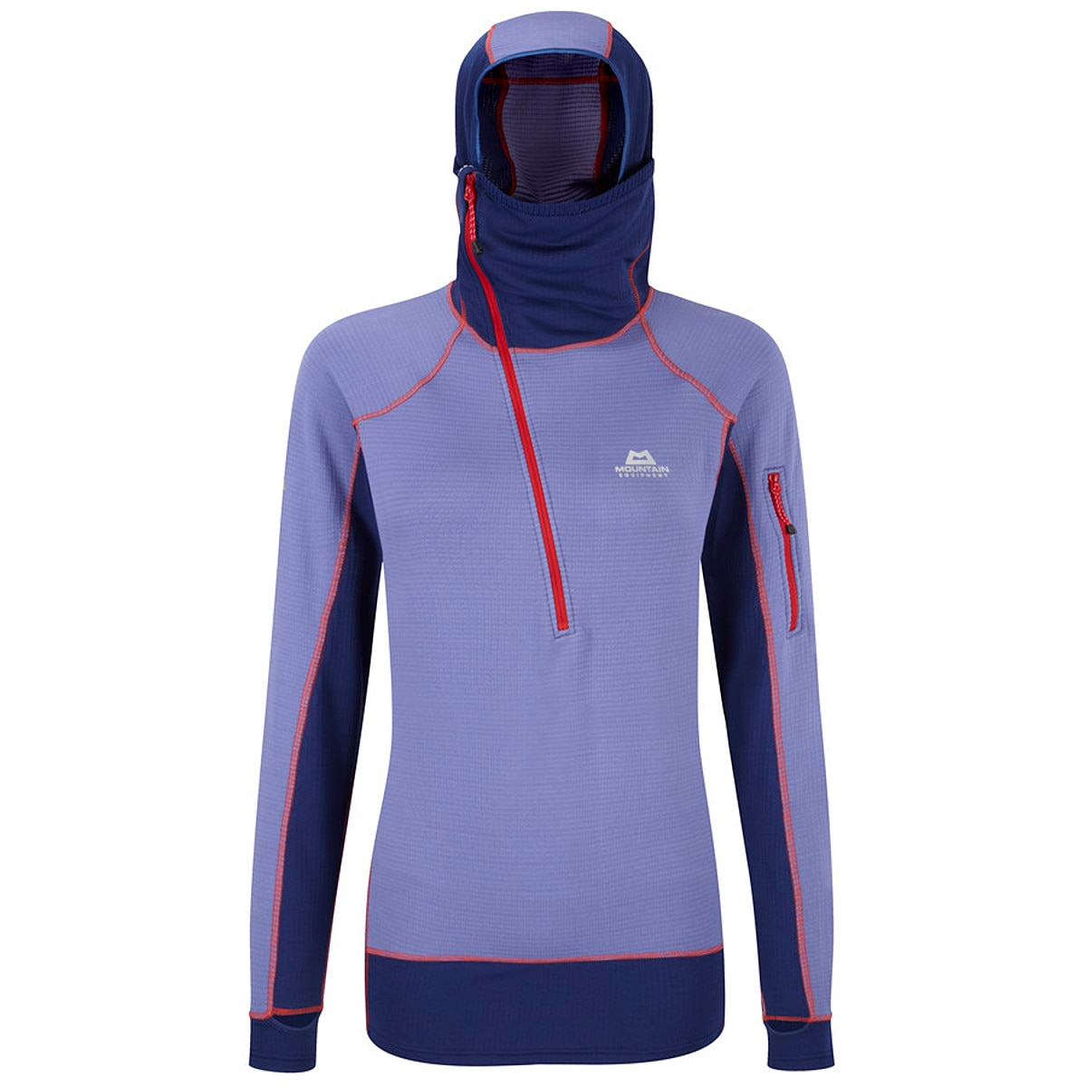 photo: Mountain Equipment Men's Eclipse Hooded Zip Tee