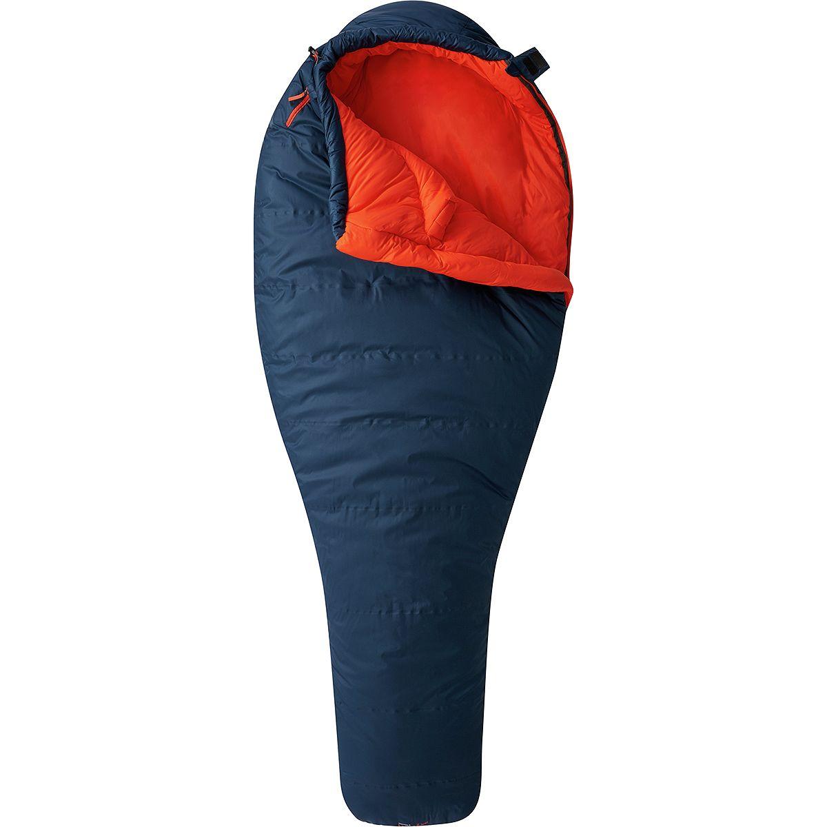 Mountain Hardwear Laminina Z Sleeping Bag: 0 Degree Synthetic - Women's Blue Spruce, Long/Left Zip