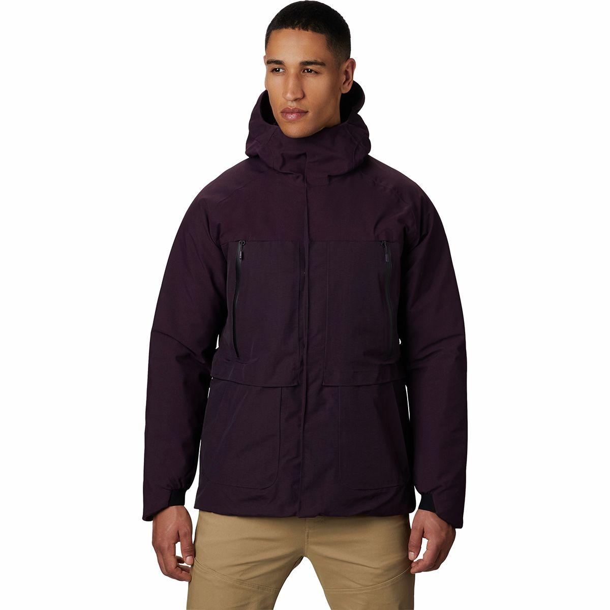 Summit Shadow GTX Down Hooded Jacket - Men