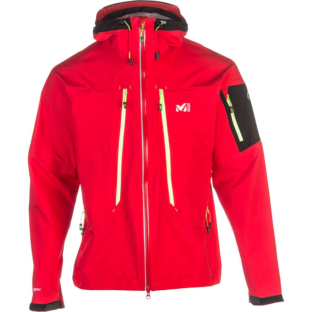Ski Jackets on sale from the best brands in outerwear. These ski jackets offer skiers a variety of weather protection with waterproof fabric that's still breathable, down or synthetic insulation and hand warmer pockets all at an affordable price.