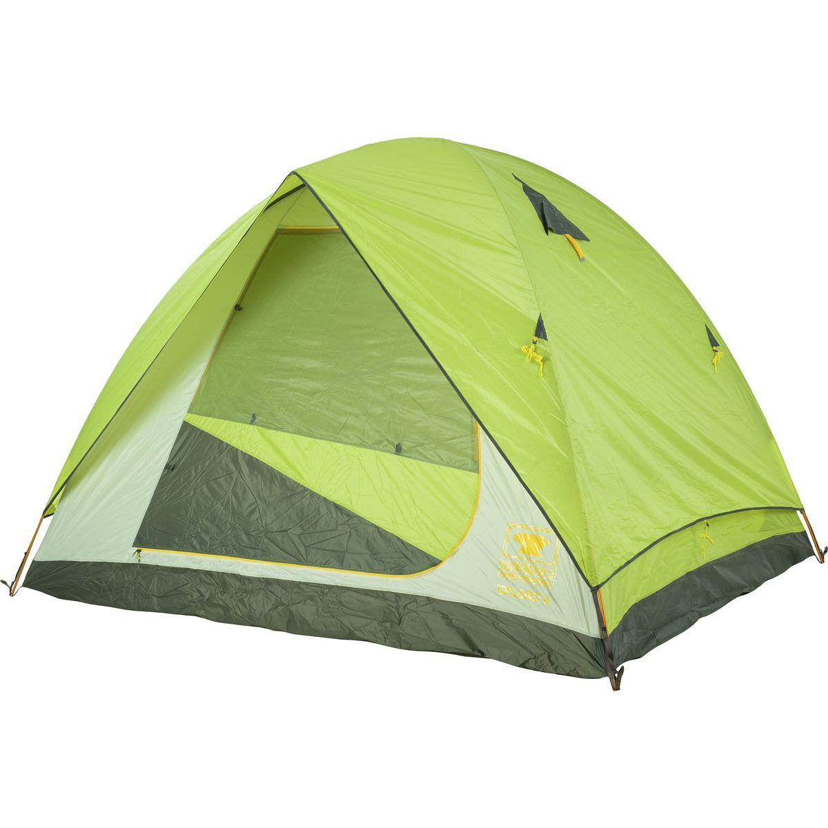 Mountainsmith Upland Tent: 6-Person 3-Season Citron Green, One Size