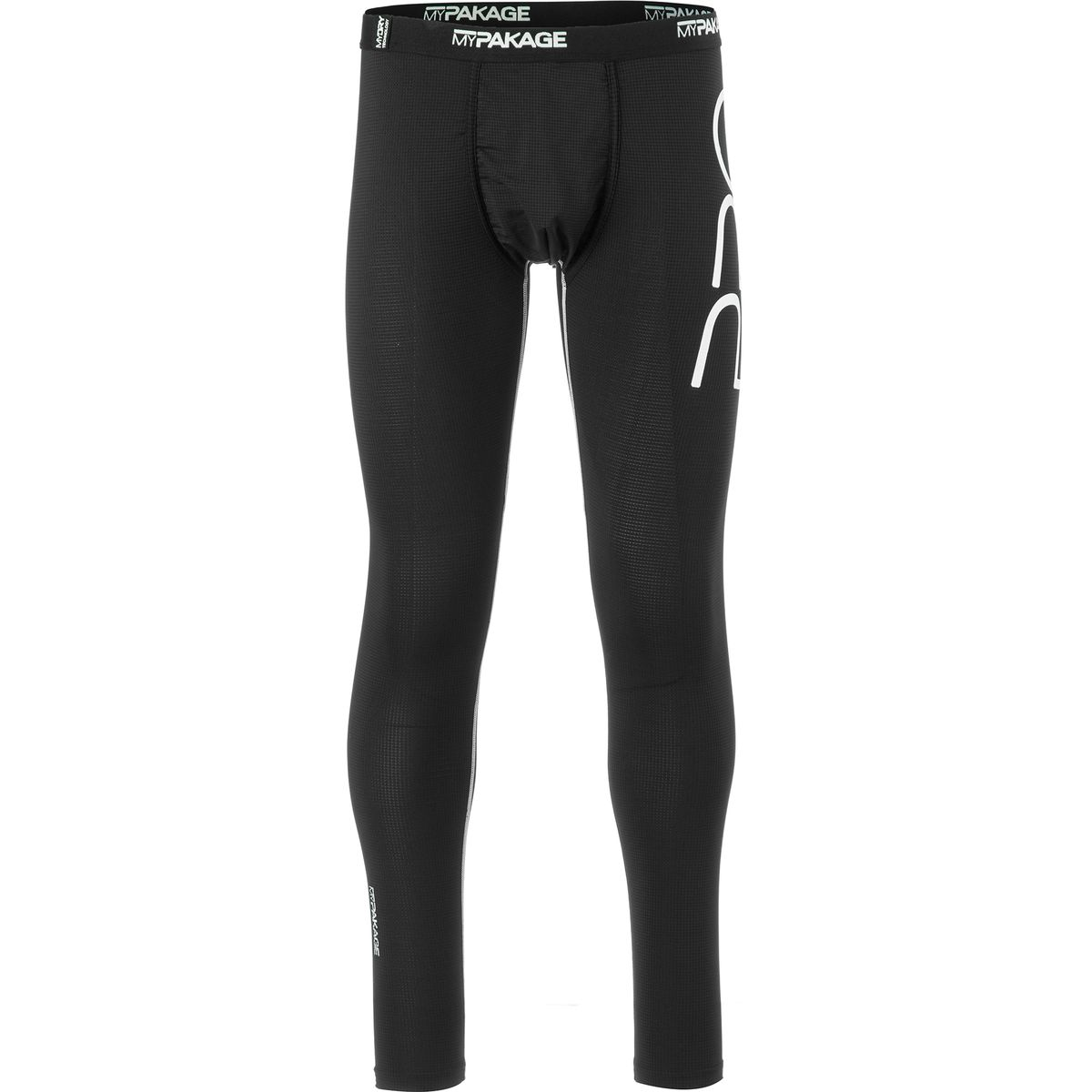 MyPakage Pro Series First Layer Tight - Men's Black White, S