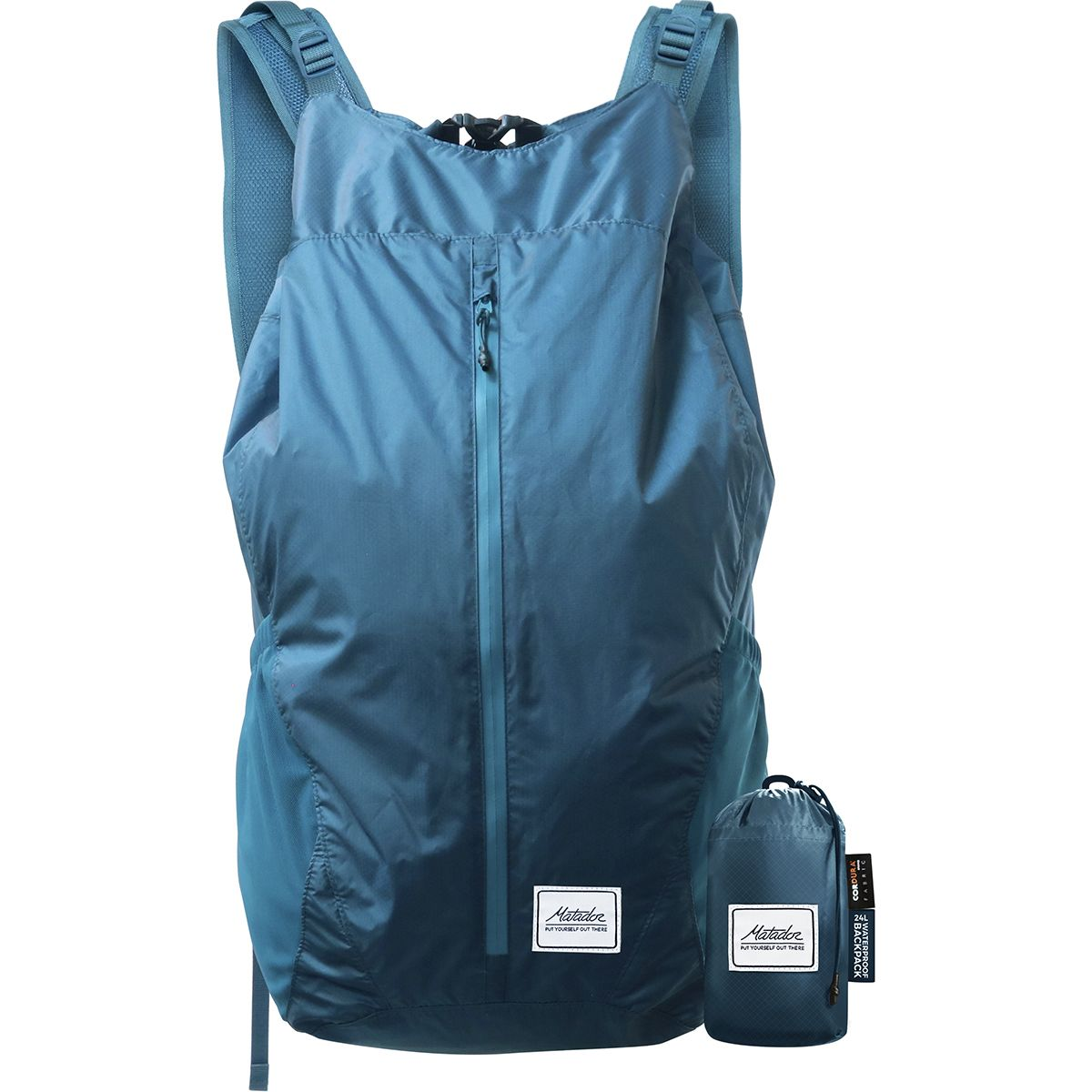 Matador FreeRain 24L Backpack Indigo, One Size MTU0008-IND-ONESIZ