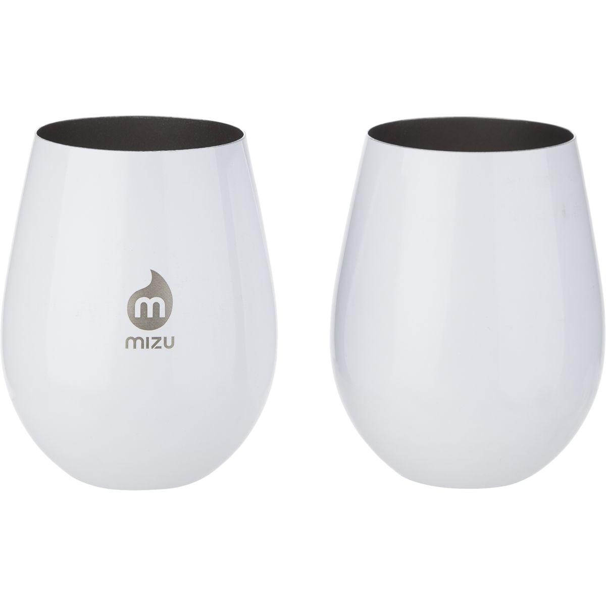 MIZU Wine Cup Set Glossy White, One Size