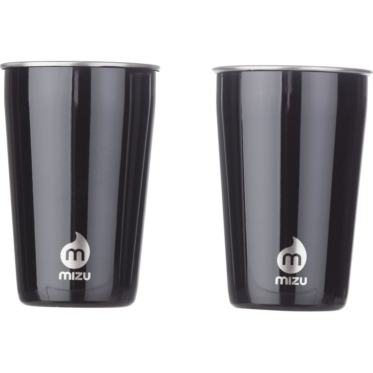 MIZU Party Cup Set Glossy Black, One Size