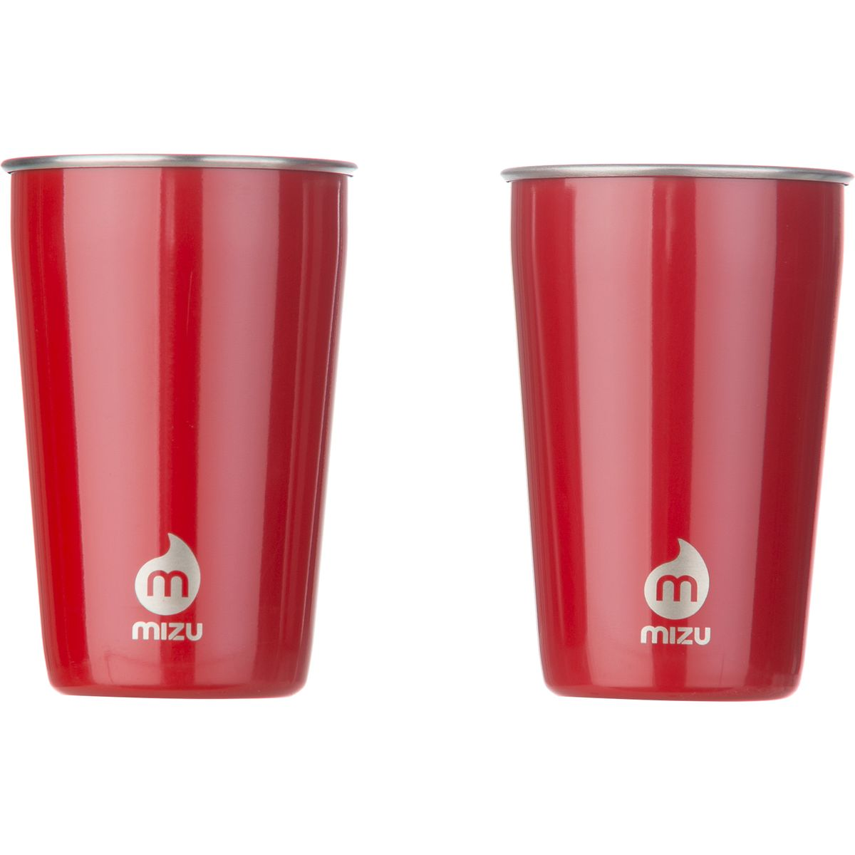 MIZU Party Cup Set Glossy Red, One Size