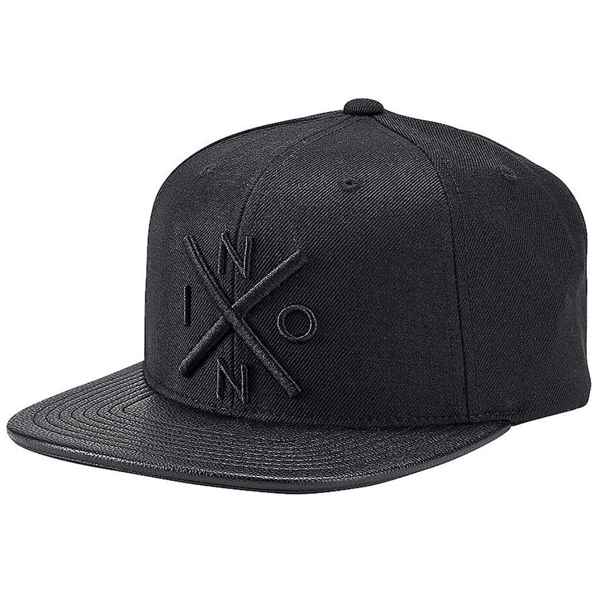 Nixon Exchange Snapback Hat All Black/Black, One Size
