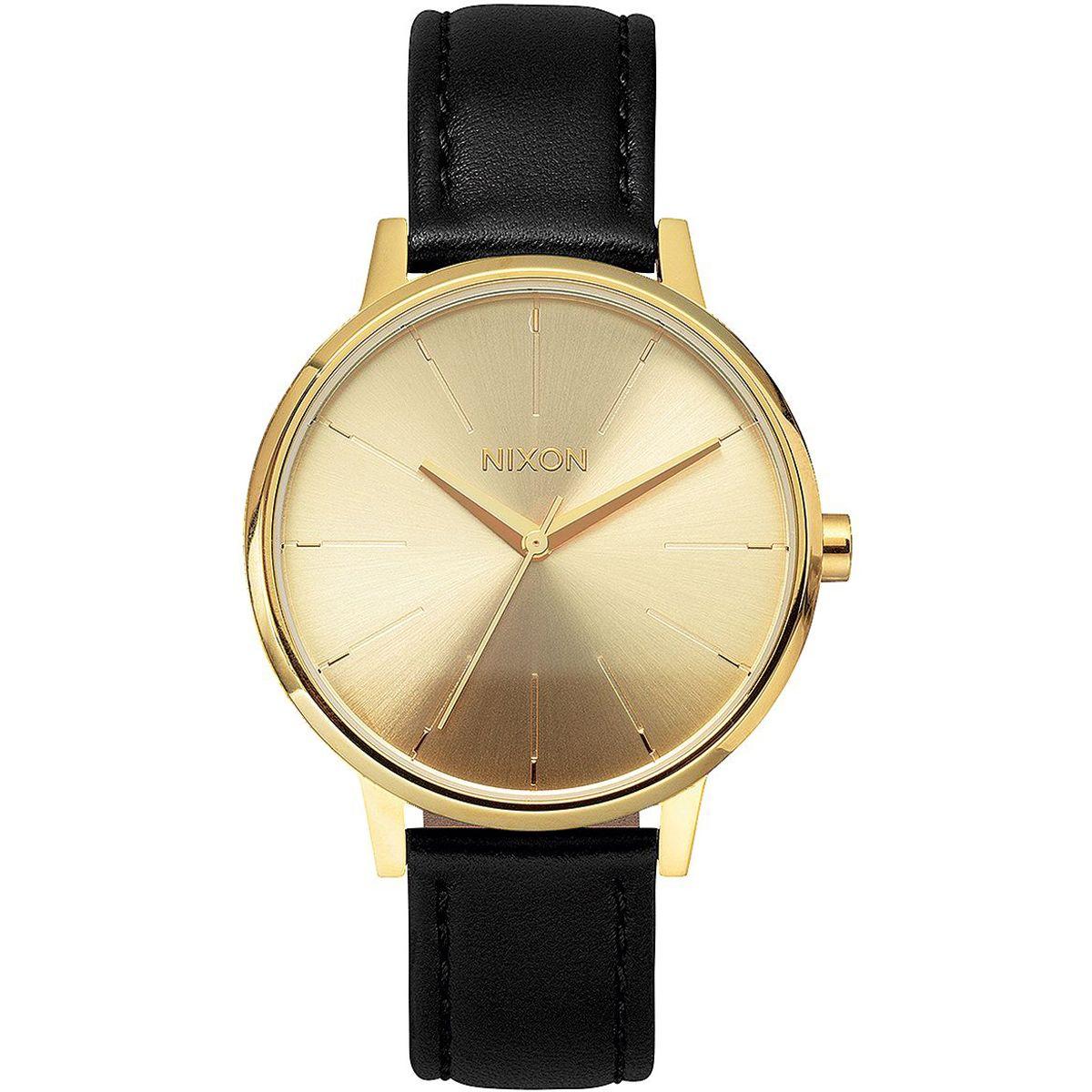 nixon kensington leather watch women 39 s