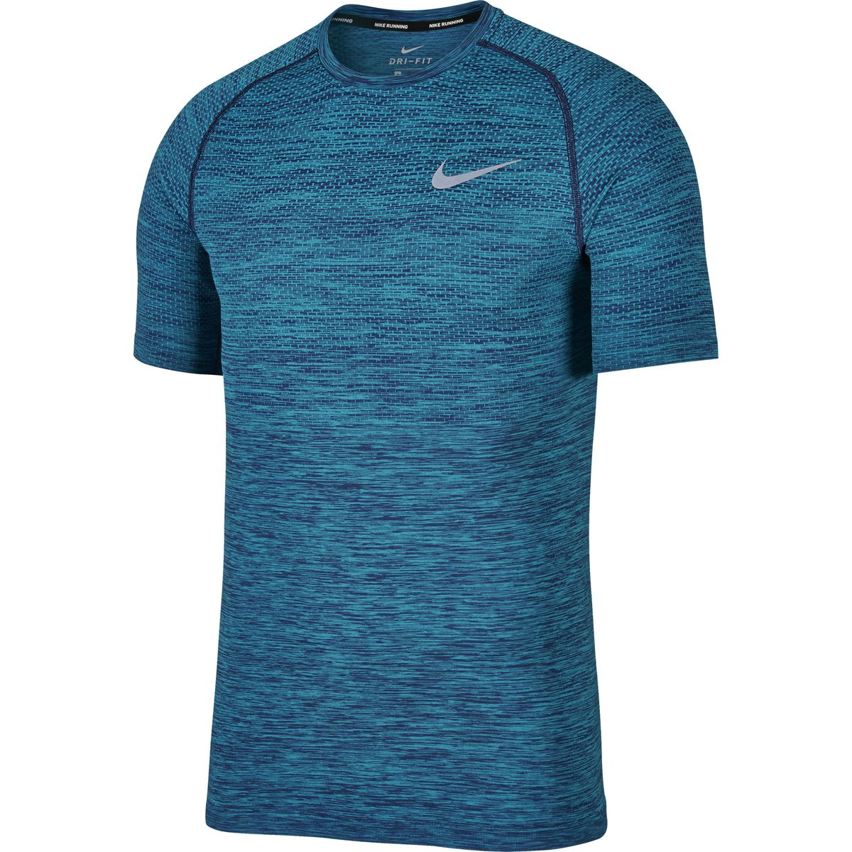 Nike Dri-FIT Knit Shirt - Binary Blue/Light Blue Fury