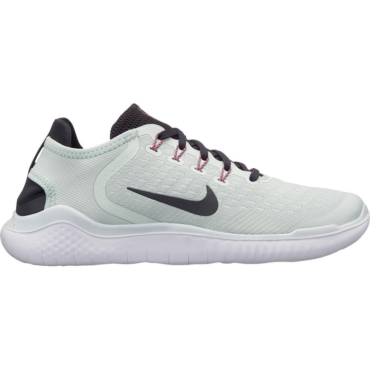 Nike Free RN Running Shoe - Women's Barely Grey/Oil Grey-White-Geode Teal, 6.5