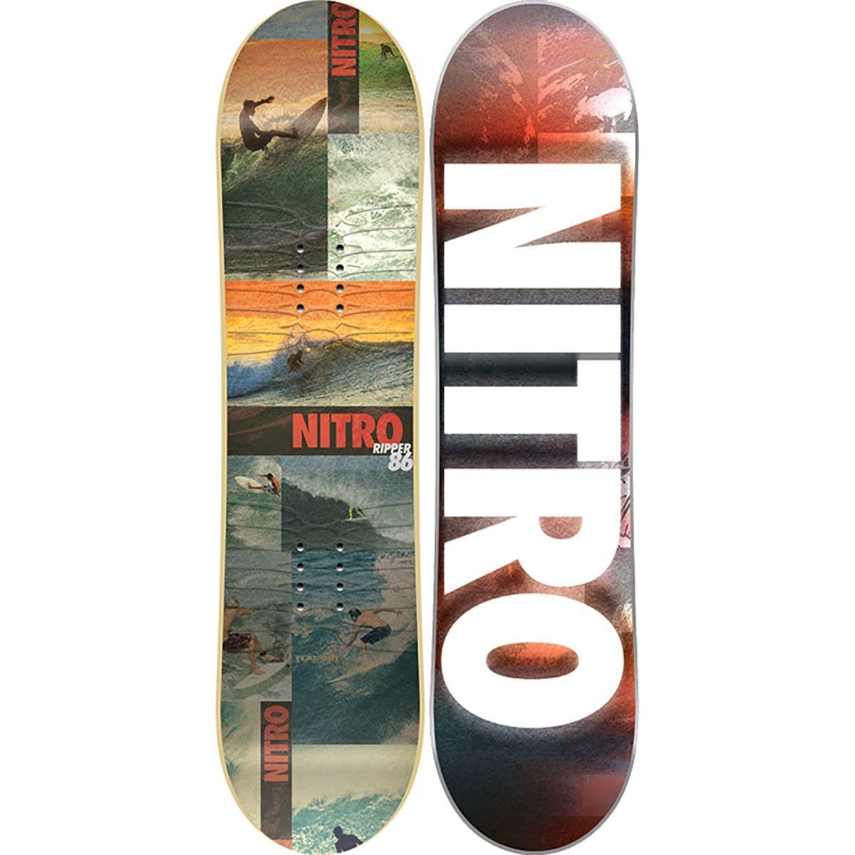 cfc1ee460524 Nitro Ripper Snowboard Kids One Color 126cm