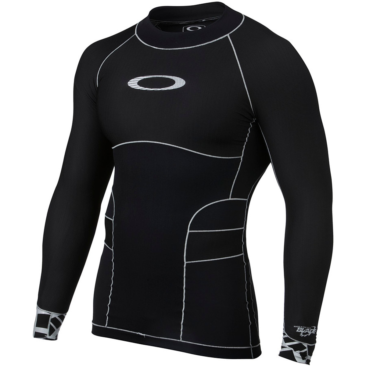 photo: Oakley Blade Compression Top long sleeve paddling shirt