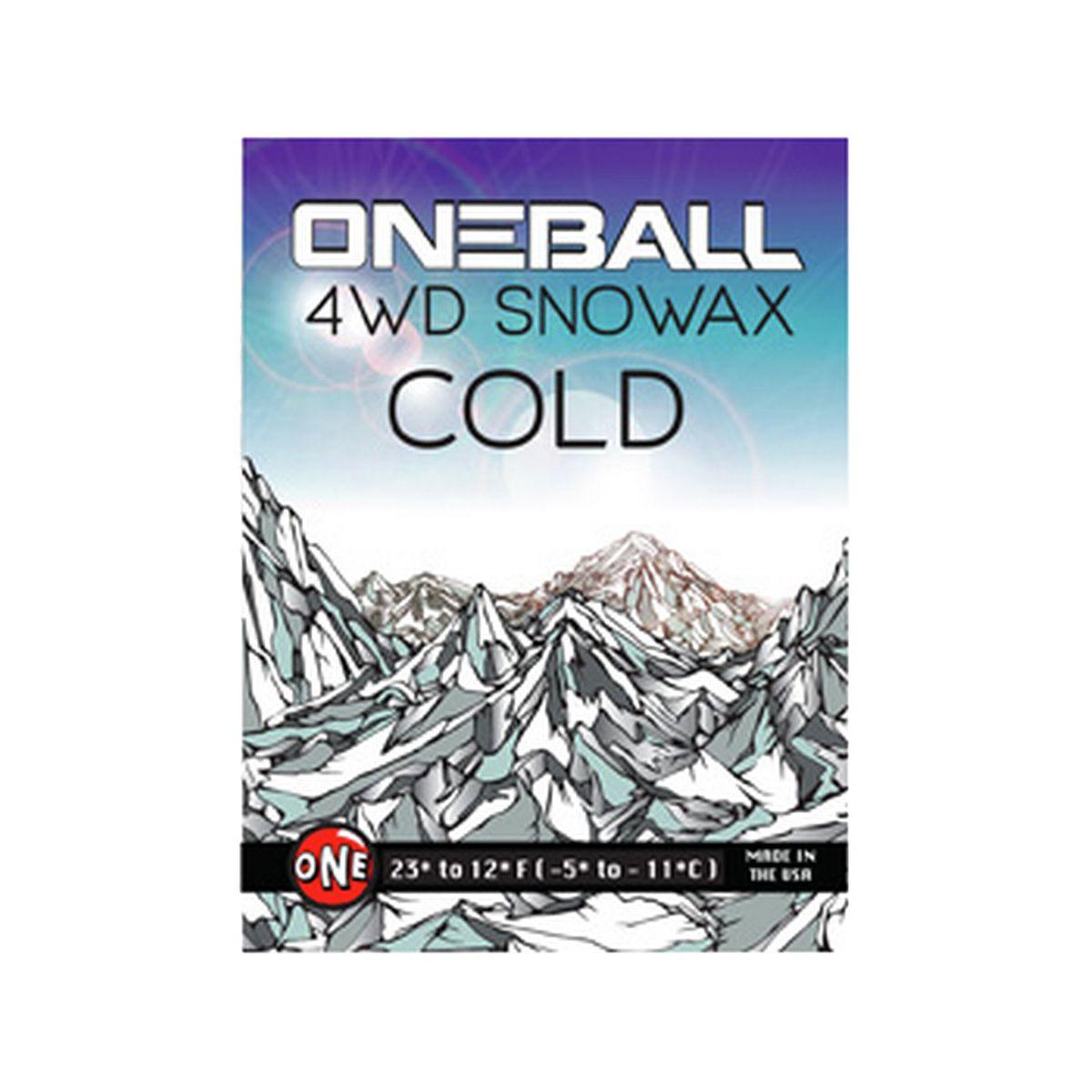 OneBallJay 4WD Wax Cold 165g