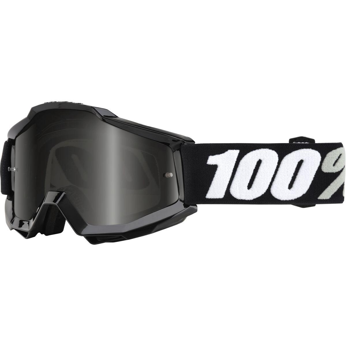 100 ACCURI Sand Goggles Goggle Tornado Grey Smoke Lens One Size