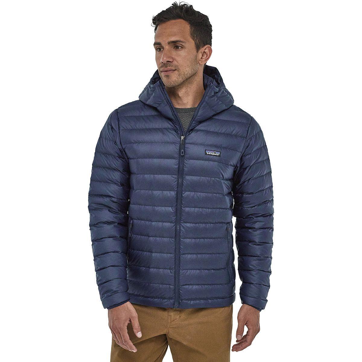 Down Sweater Hooded Jacket - Men