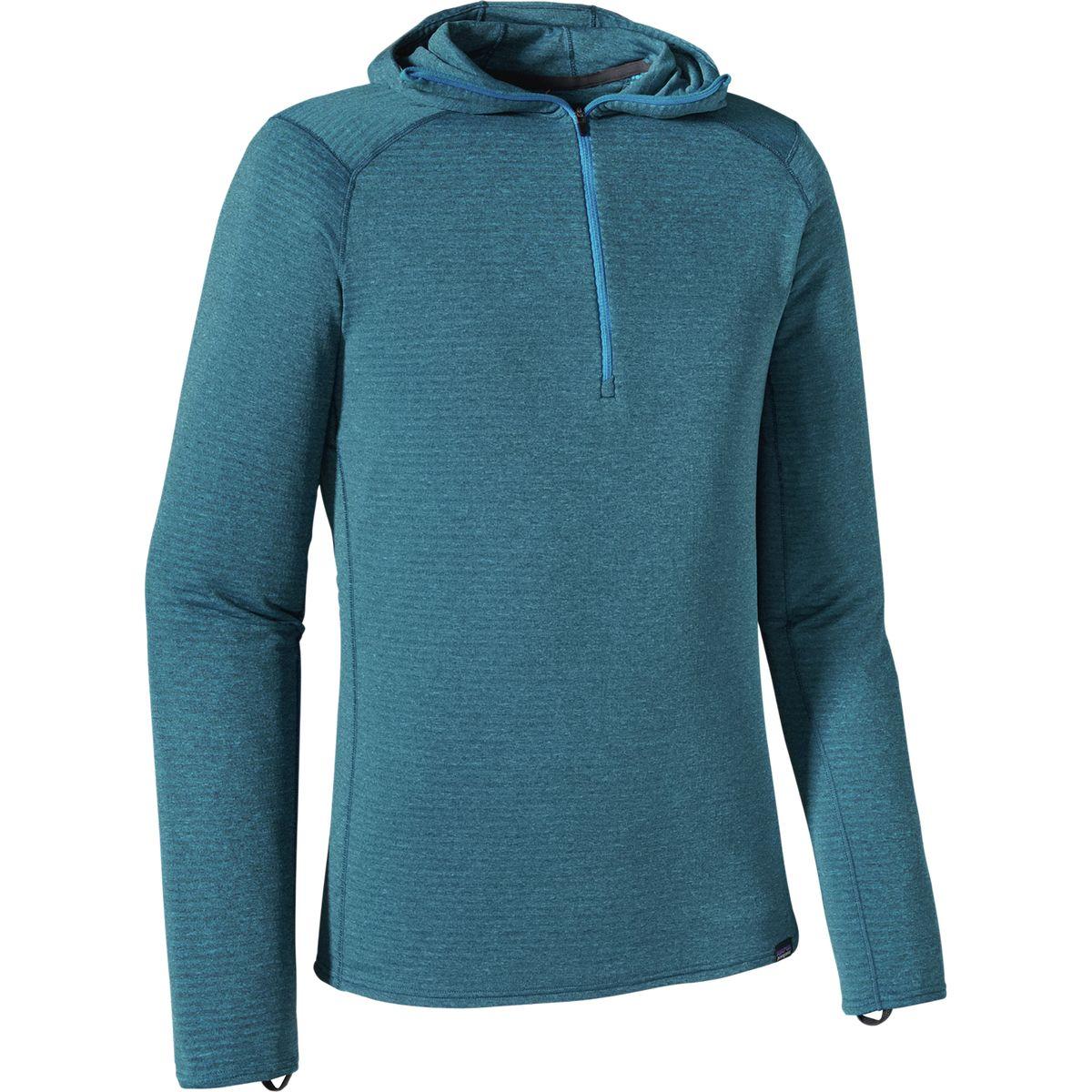 Patagonia Capilene Thermal Weight Hooded Zip-Neck Top - Men
