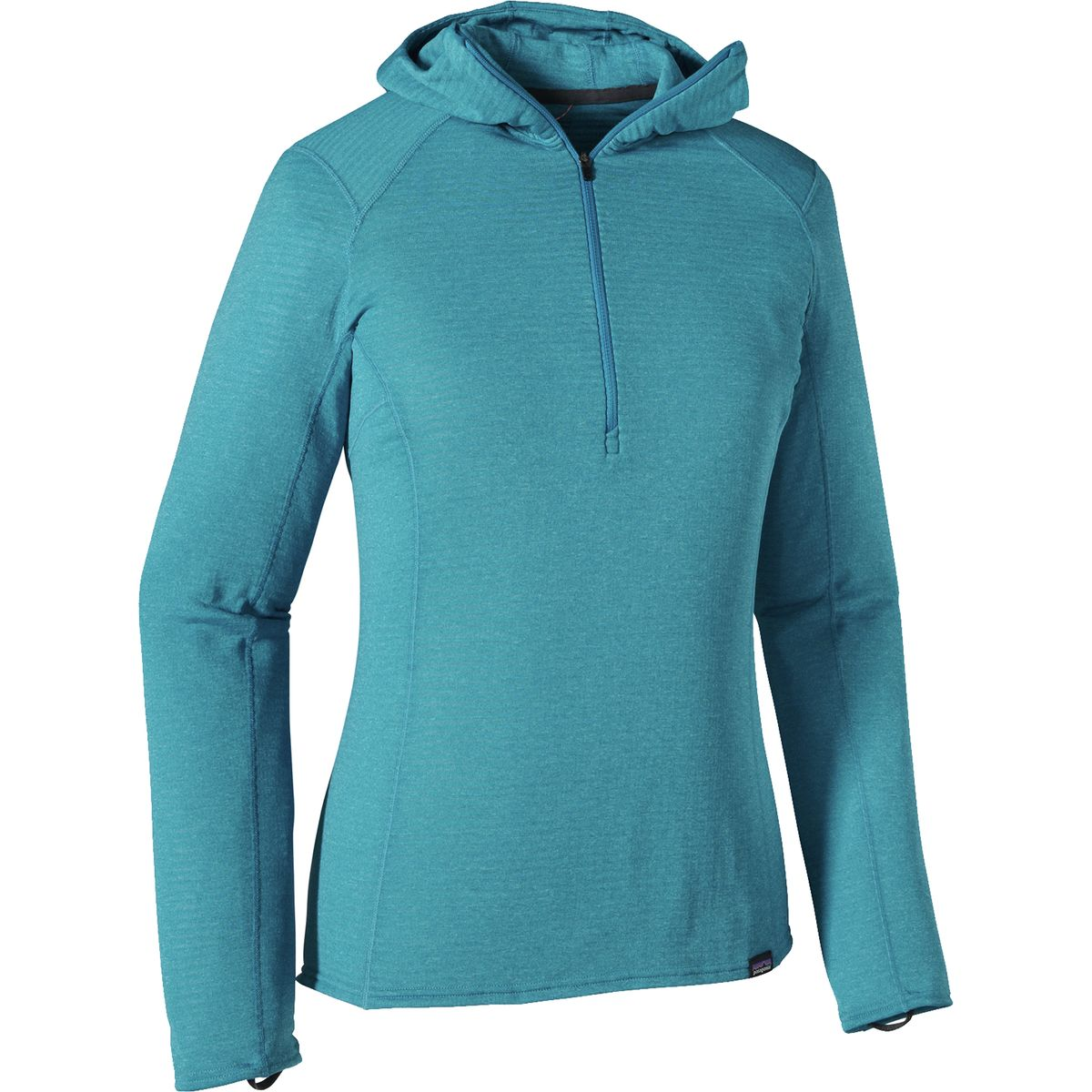 Patagonia Capilene Thermal Weight Zip-Neck Hooded Top - Women