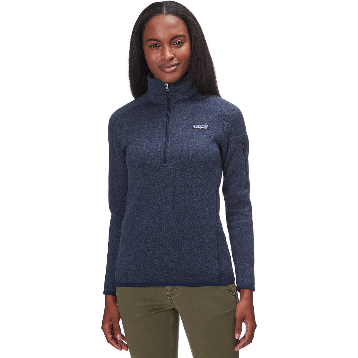 Patagonia Better Sweater 1/4-Zip Fleece Jacket - Women