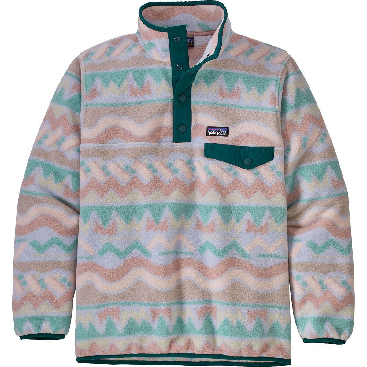 Lightweight Synchilla Snap-T Pullover Fleece Jacket - Girls