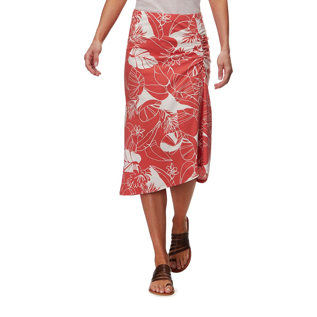 Patagonia Dream Song Skirt - Women's Valley Flora/Quartz Coral, L PAT02B1-VALFLOCOR-L