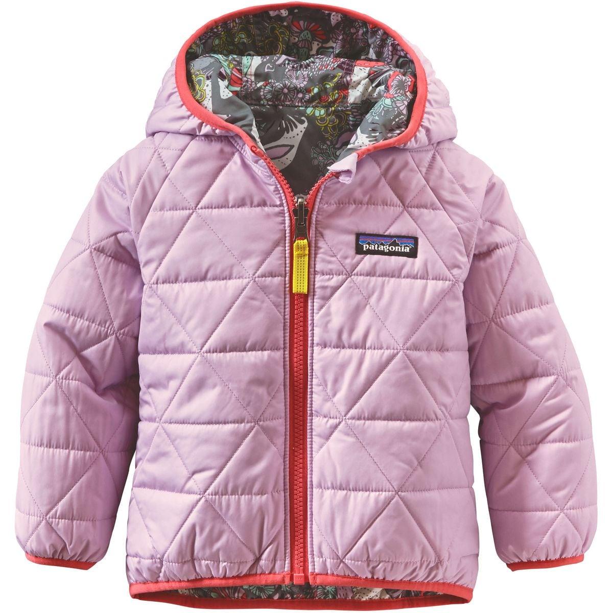 Patagonia Reversible Puff-Ball Jacket - Infant Girls