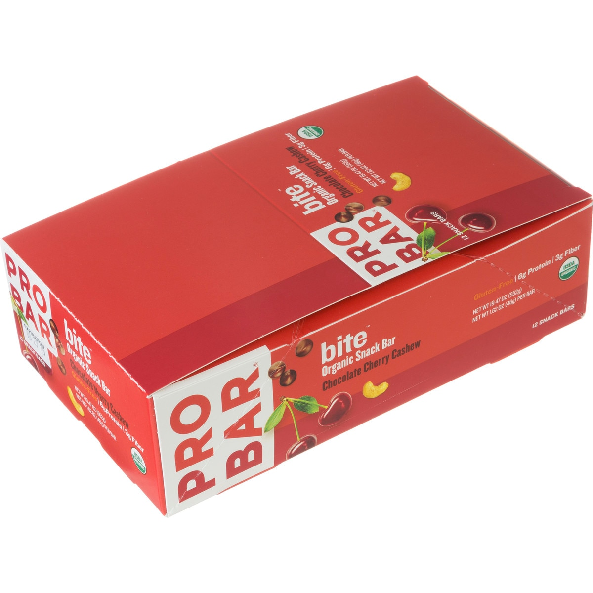 ProBar Bite Bar  12 Pack Mixed Berry One Size