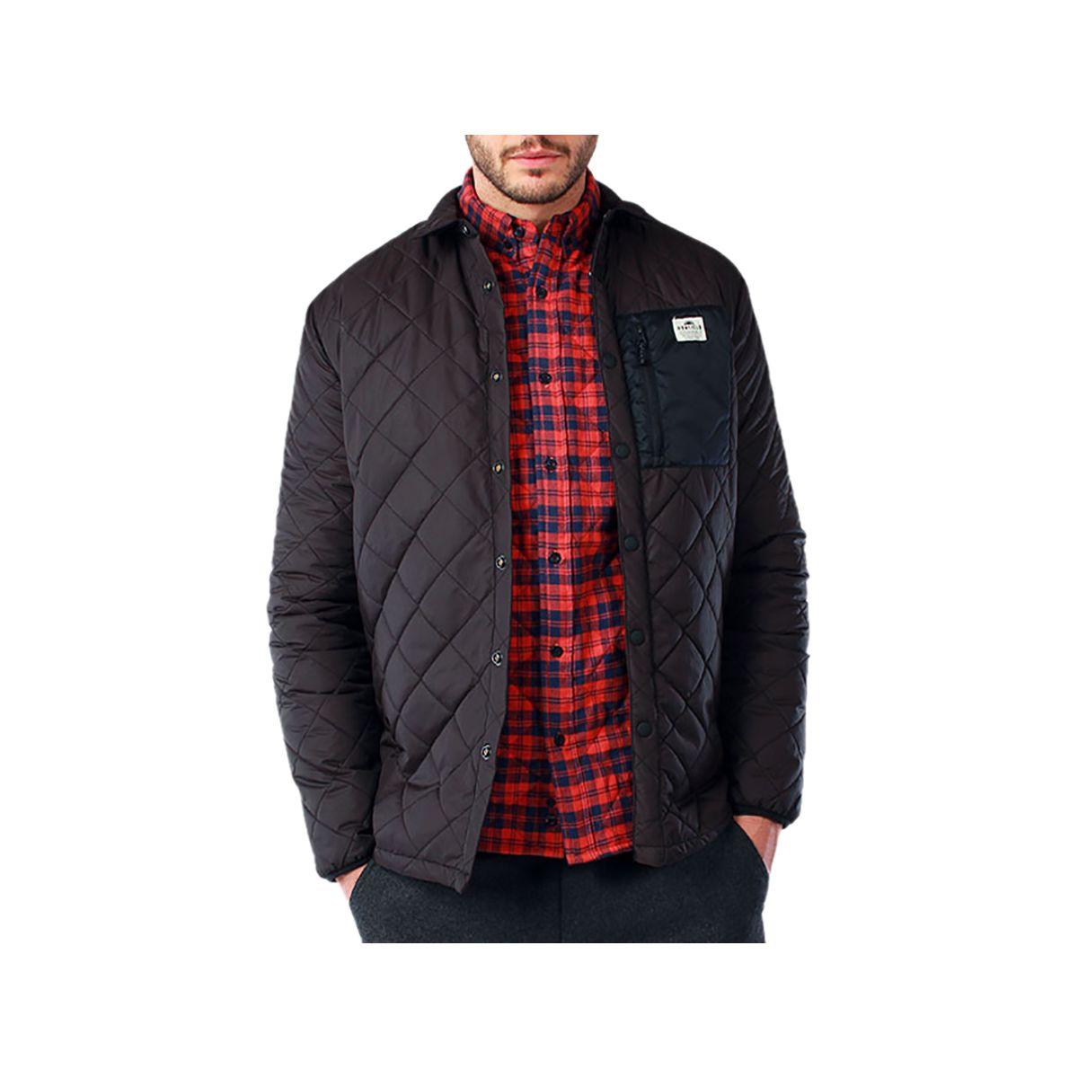 Penfield Courtland Quilted Shirt Jacket - Men