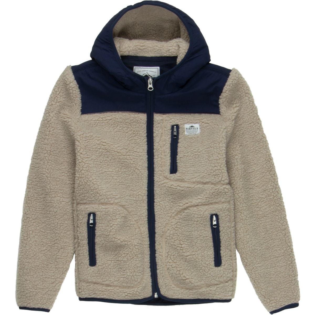Penfield Carson Hooded Pile Fleece Jacket - Boys