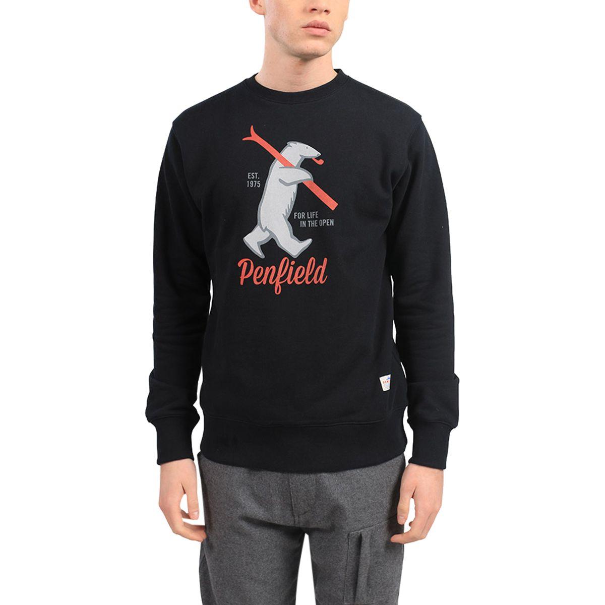 Penfield Ski Bear Crew Sweater - Men