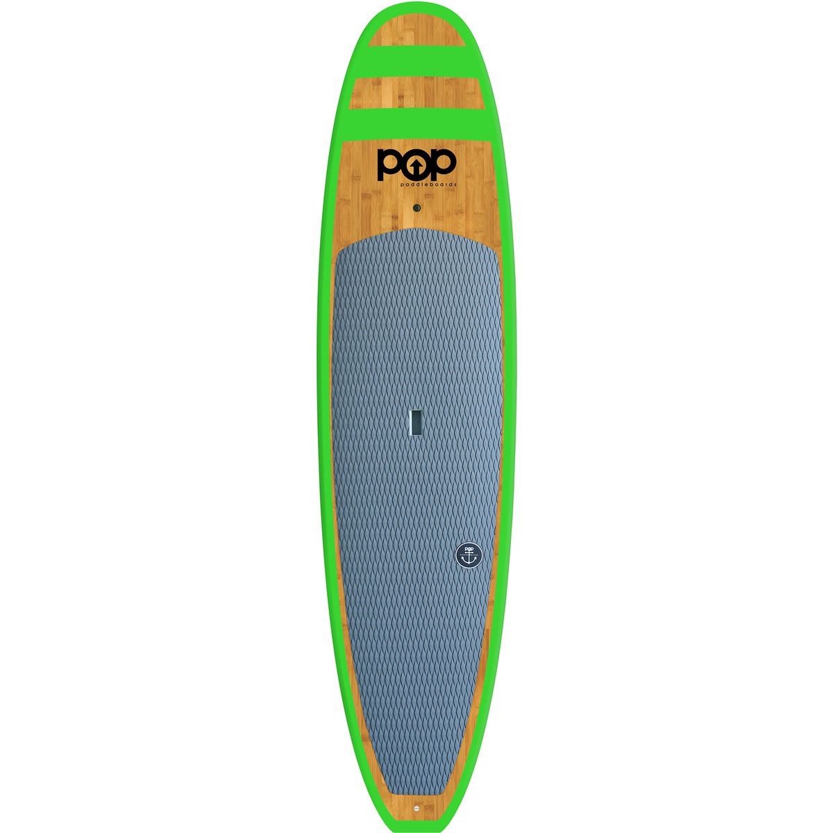 POP Paddleboards Huckleberry Stand Up Paddleboard Bright Green 11ft