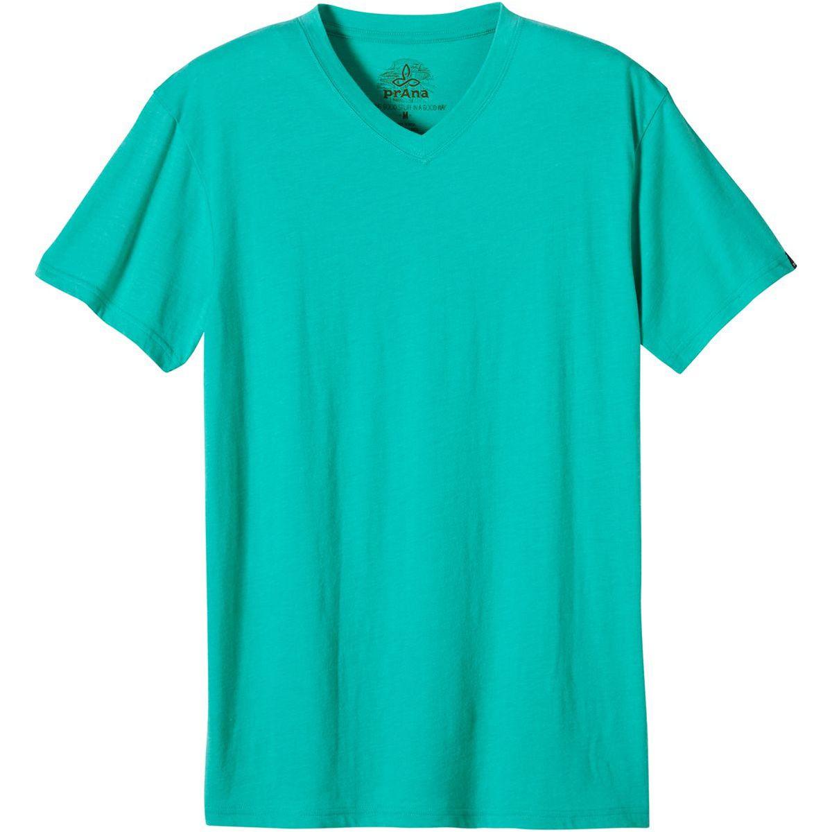 Prana V-Neck Slim Fit T-Shirt - Men