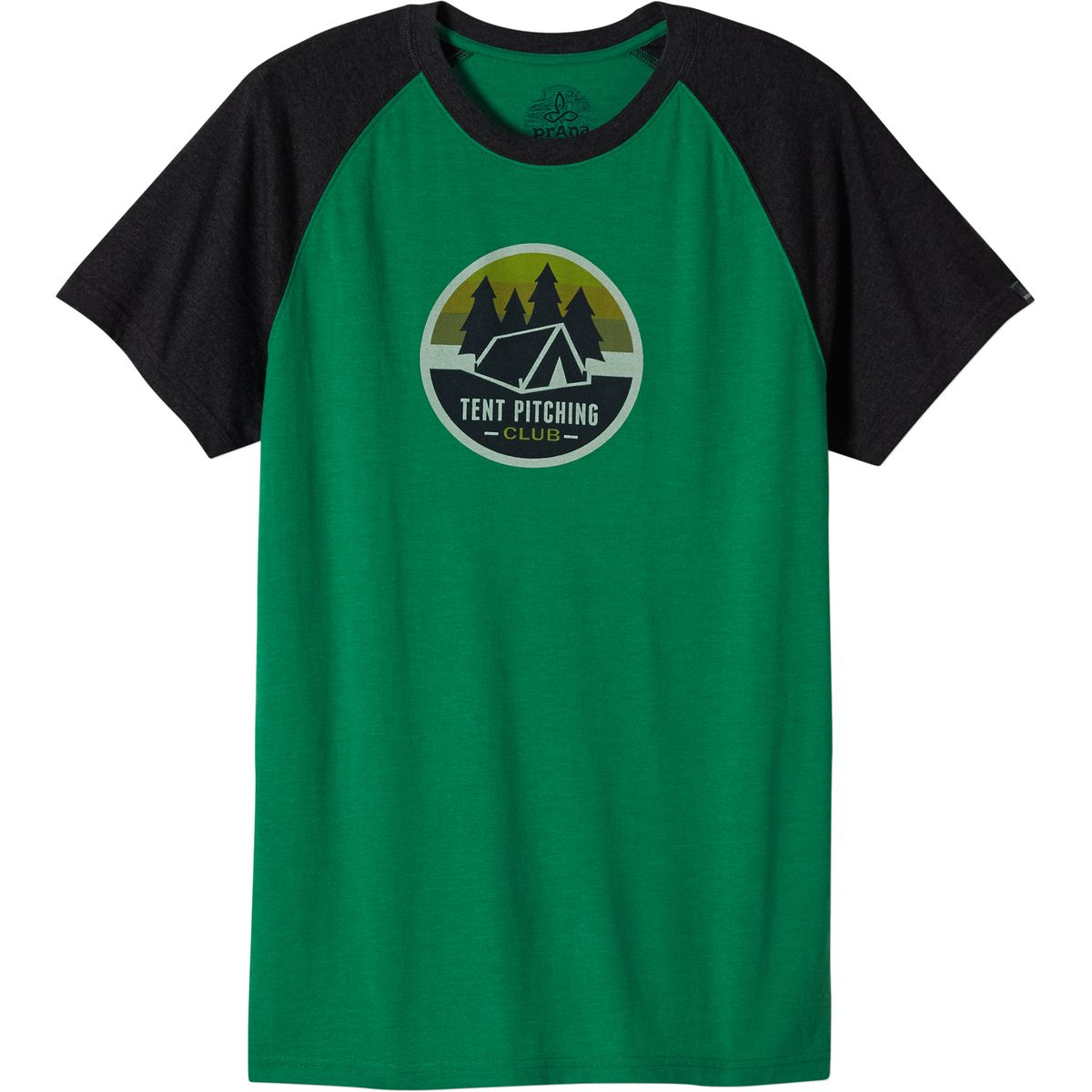 Prana Tent Pitch Club Raglan T-Shirt - Men