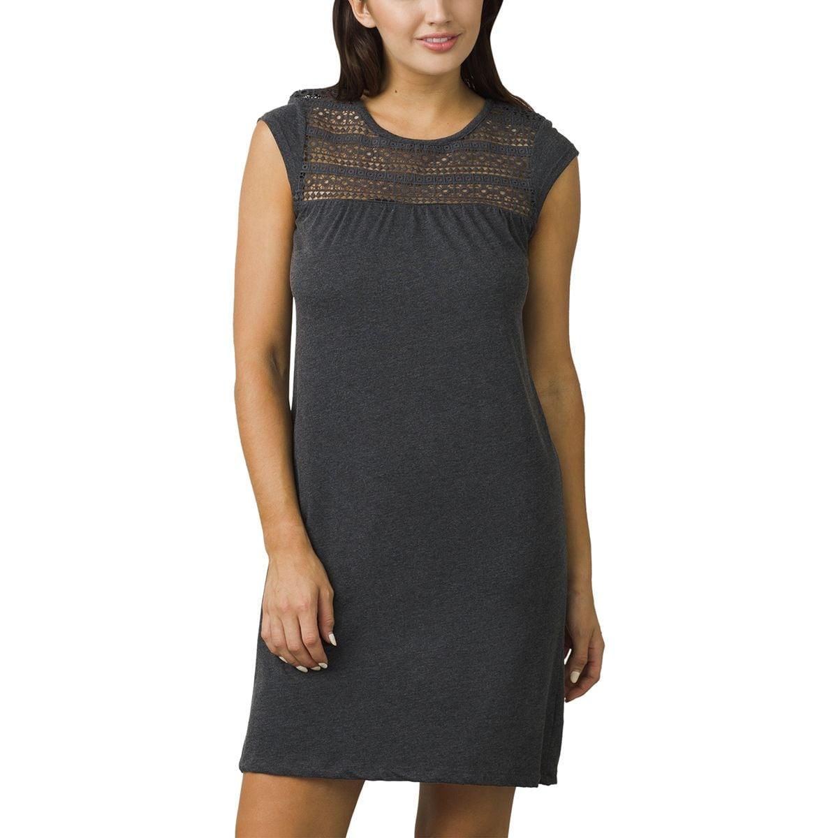 Prana Day Dream Dress - Women's Black, XL PRA016F-BK-XL