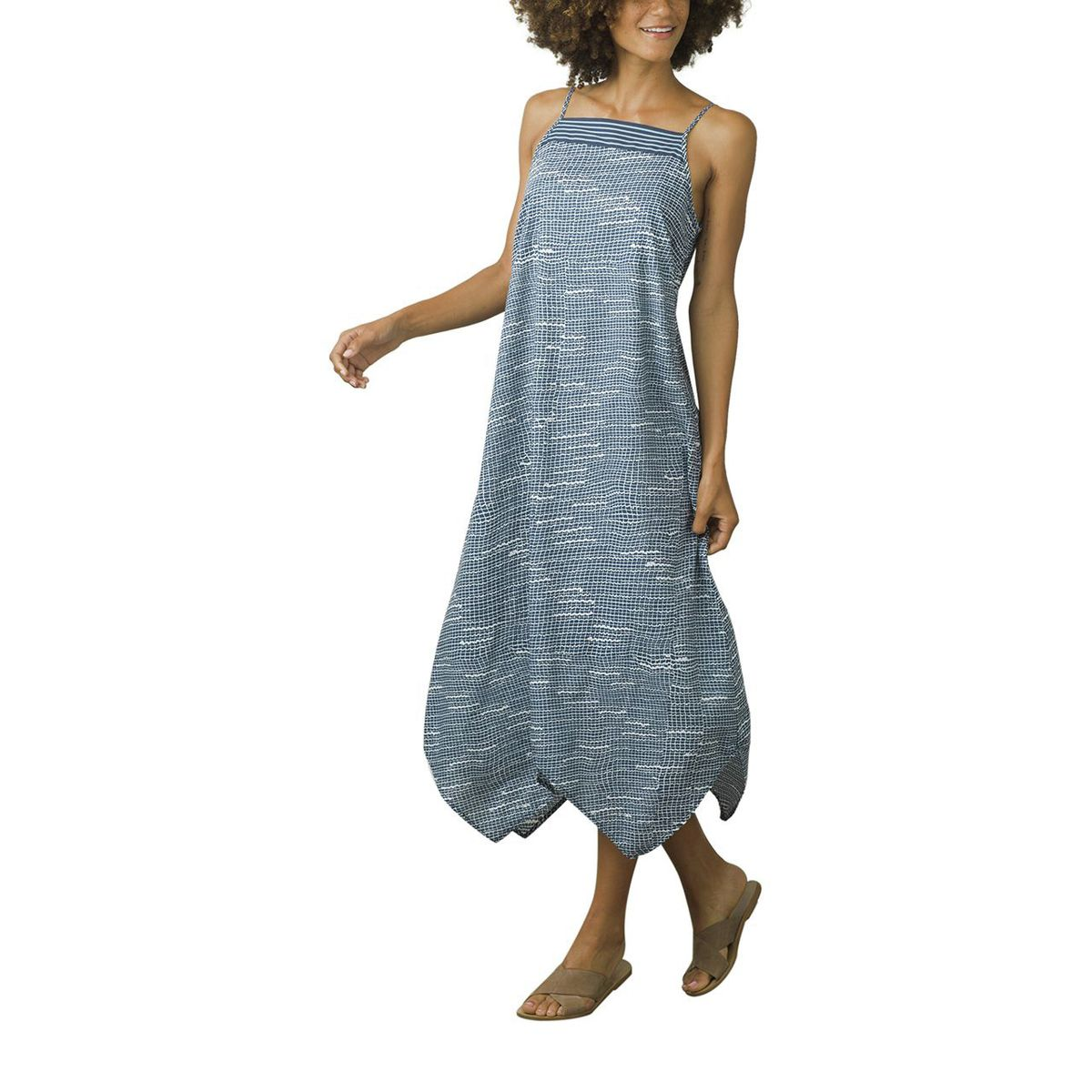 Prana Selene Tank Dress - Women's Blue Thatch, L PRA016Q-BLTHA-L