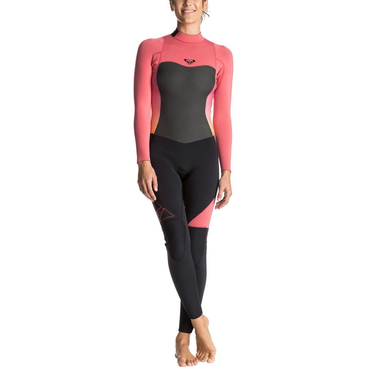 18c939eff2a Roxy 4 3 Syncro Back Zip GBS Wetsuit Womens